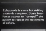 Still frame from: Symptoms in Schizophrenia
