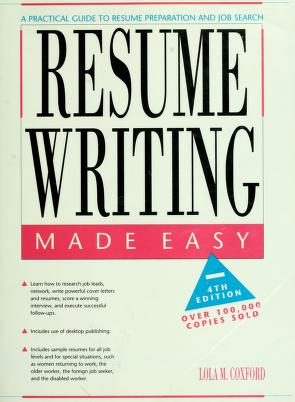Cover of: Resume writing made easy by Lola Brown