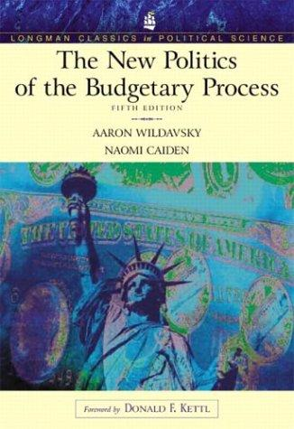 The new politics of the budgetary process