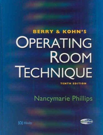 Download Berry & Kohn's Operating Room Technique