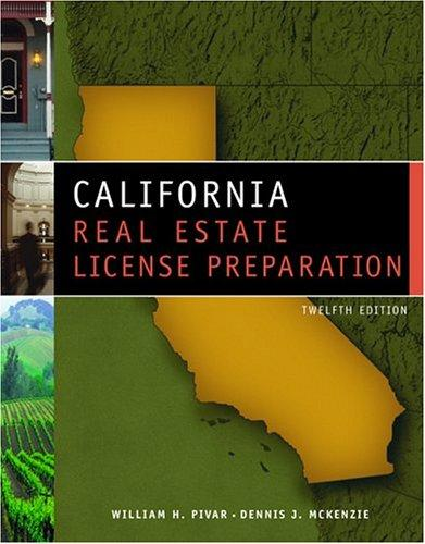 Download California real estate license preparation