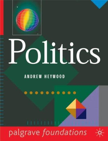 Download Politics (Palgrave Foundations)