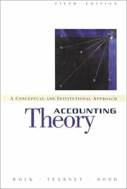 Accounting Theory: A Conceptual And Institutional Approach PDF Download