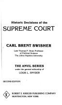 Download Historic decisions of the Supreme Court