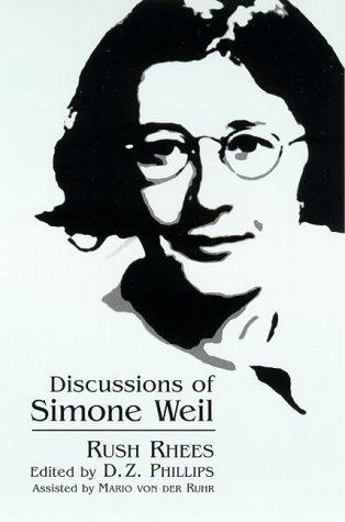 Image for Discussions of Simone Weil (SUNY series, Simone Weil Studies)