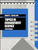 Download Topics in management science