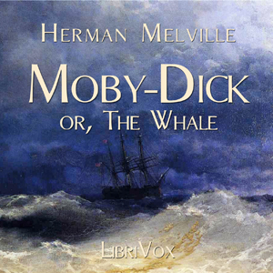Moby Dick- or the Whale(753) by Herman Melville audiobook cover art image on Bookamo