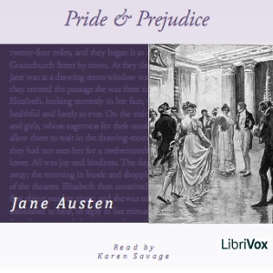 Pride and Prejudice (version 3)(1480) by Jane Austen audiobook cover art image on Bookamo