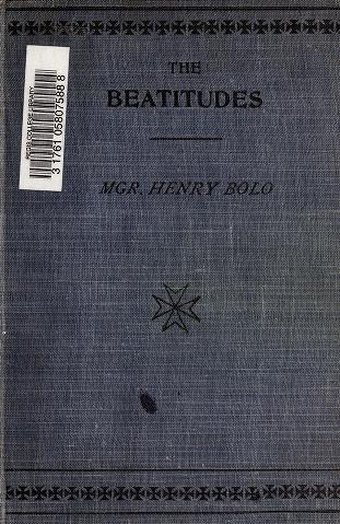 Cover of: The Beatitudes by Henry Bolo
