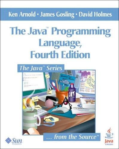 The Java Programming Language by