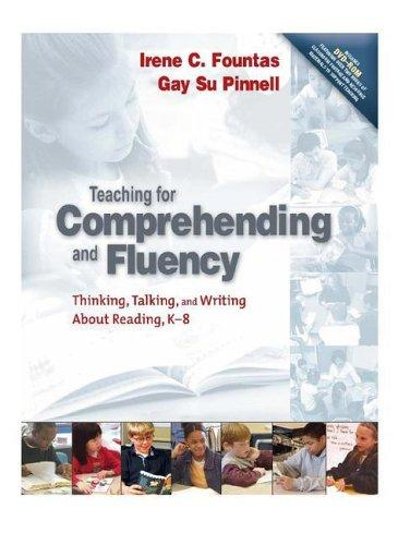 Teaching for Comprehending and Fluency by Irene C. Fountas