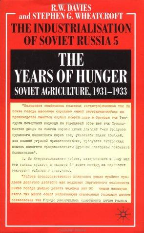 The years of hunger by