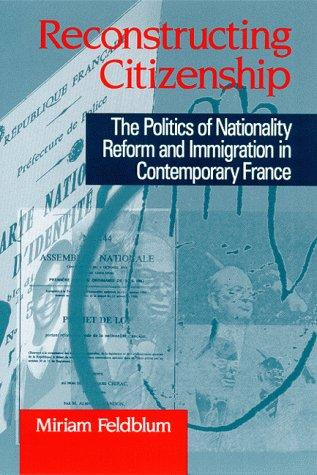 Reconstructing citizenship by Miriam Feldblum