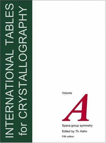 International Tables for Crystallography, Volume A by Theo Hahn